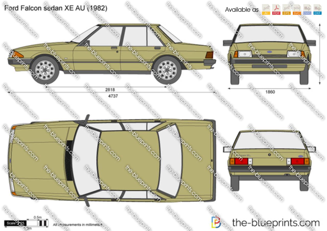 Ford Falcon sedan XE AU