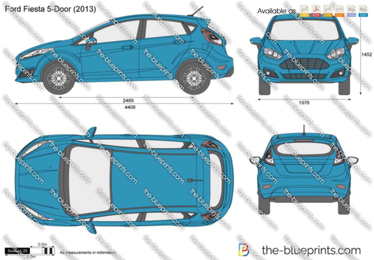 Ford Fiesta 5-Door 2014