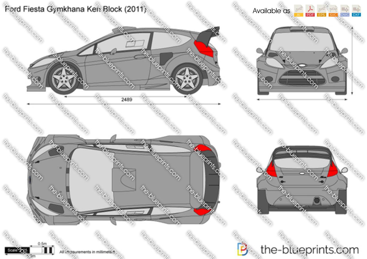 Ford Fiesta Gymkhana Ken Block