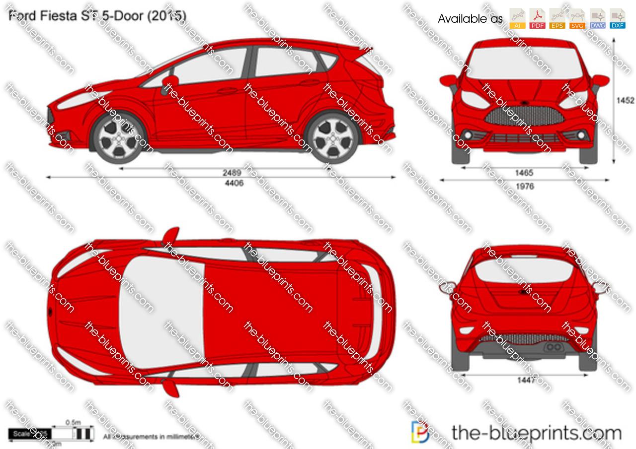 Ford Fiesta ST 5-Door 2016