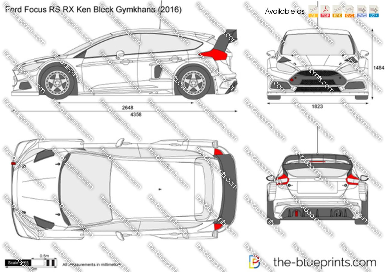 Ford Focus RS RX Ken Block Gymkhana