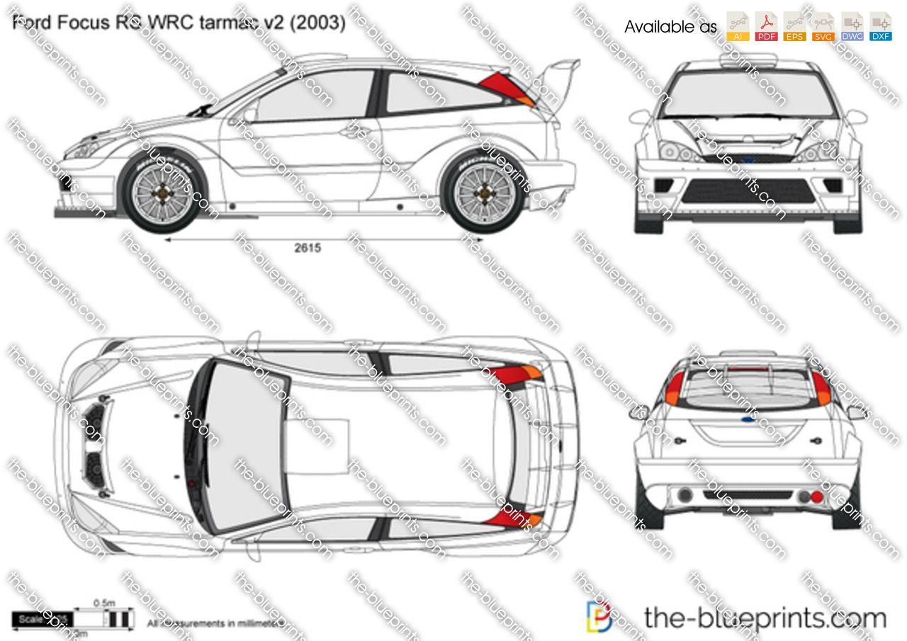 Ford Focus RS WRC tarmac v2