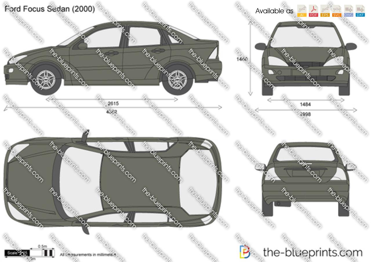 Request For Ford Focus 2000 2004 Sedan Model Sketchucation 1 Se