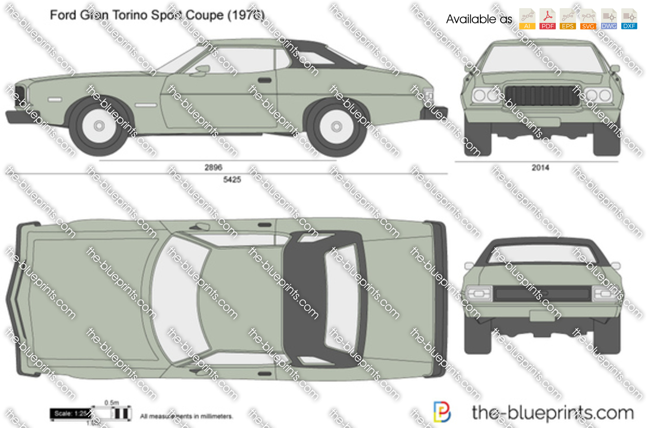 Ford Gran Torino Sport Coupe