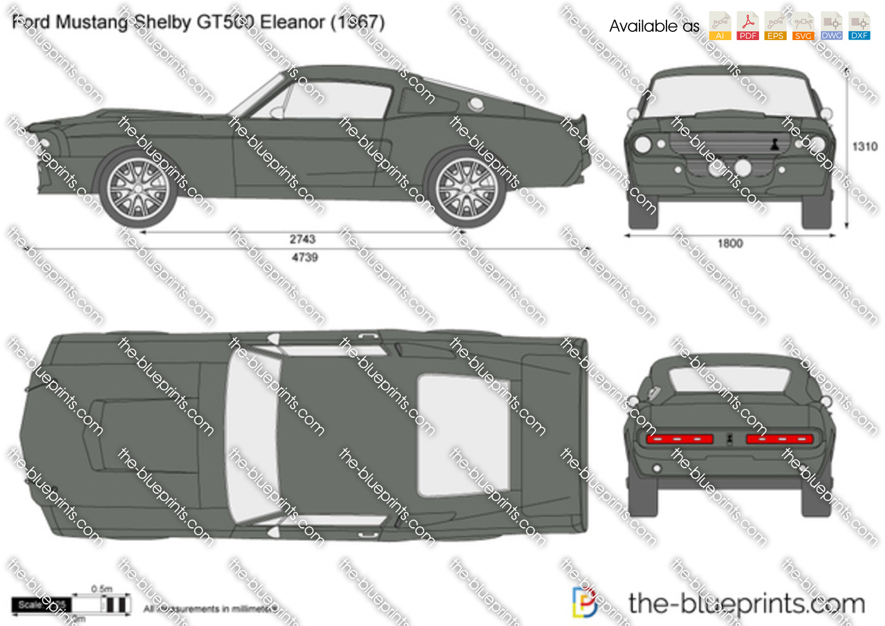 blueprint car mustang new the blueprints pkw ford gt 2011 ford mustang shelby gt500 eleanor
