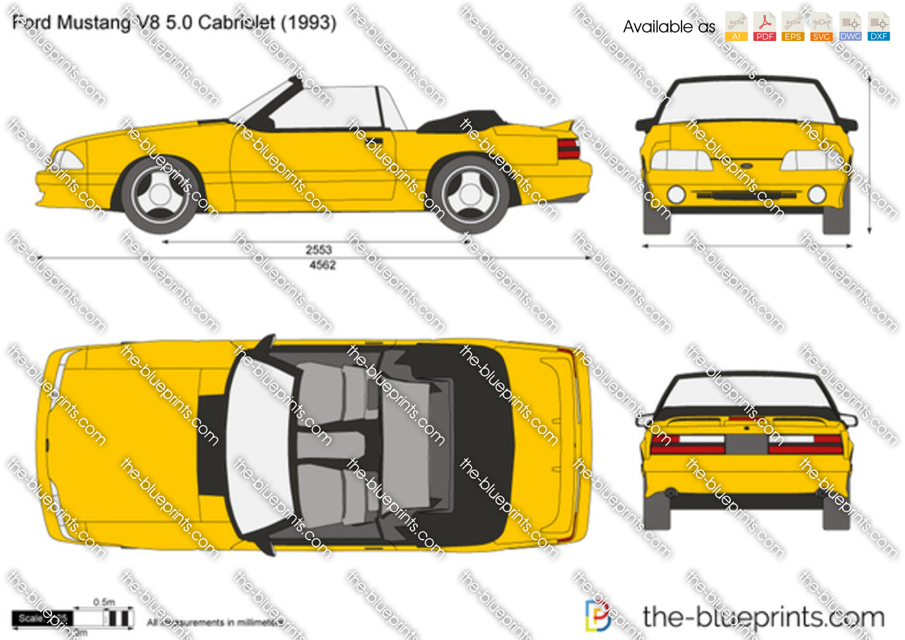 Ford Mustang V8 5.0 Cabriolet