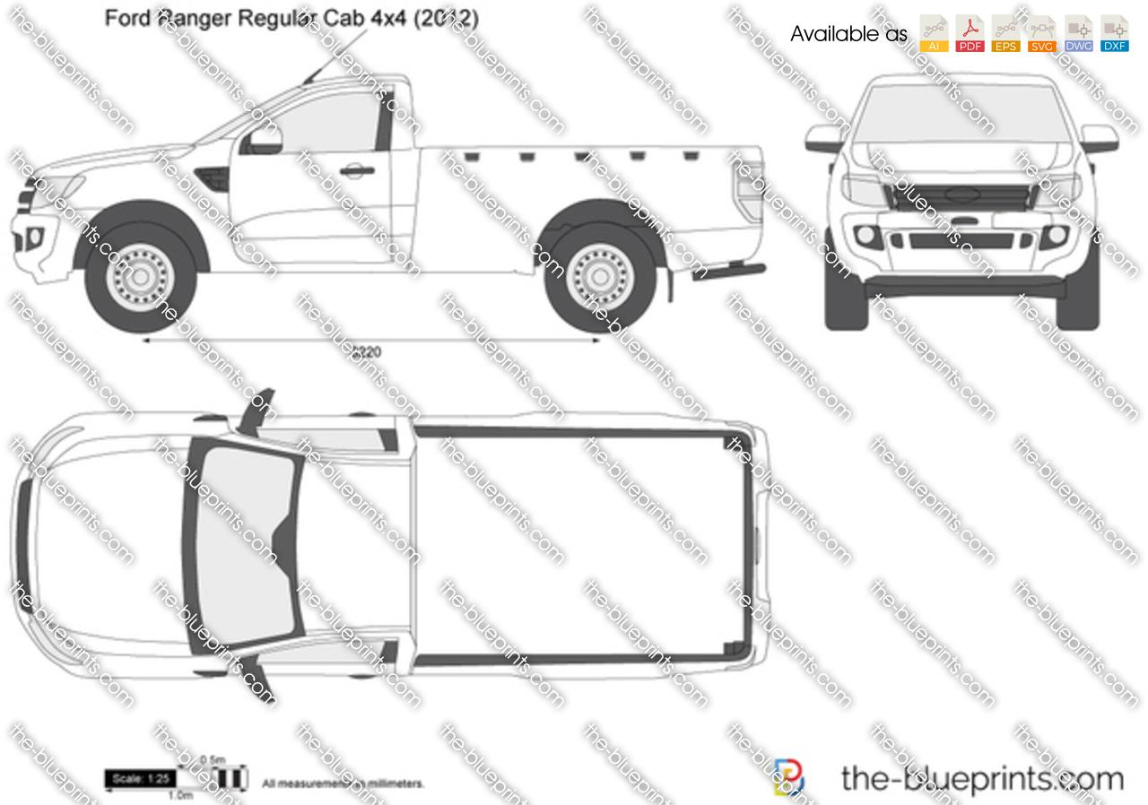 Ford Ranger Regular Cab 4x4