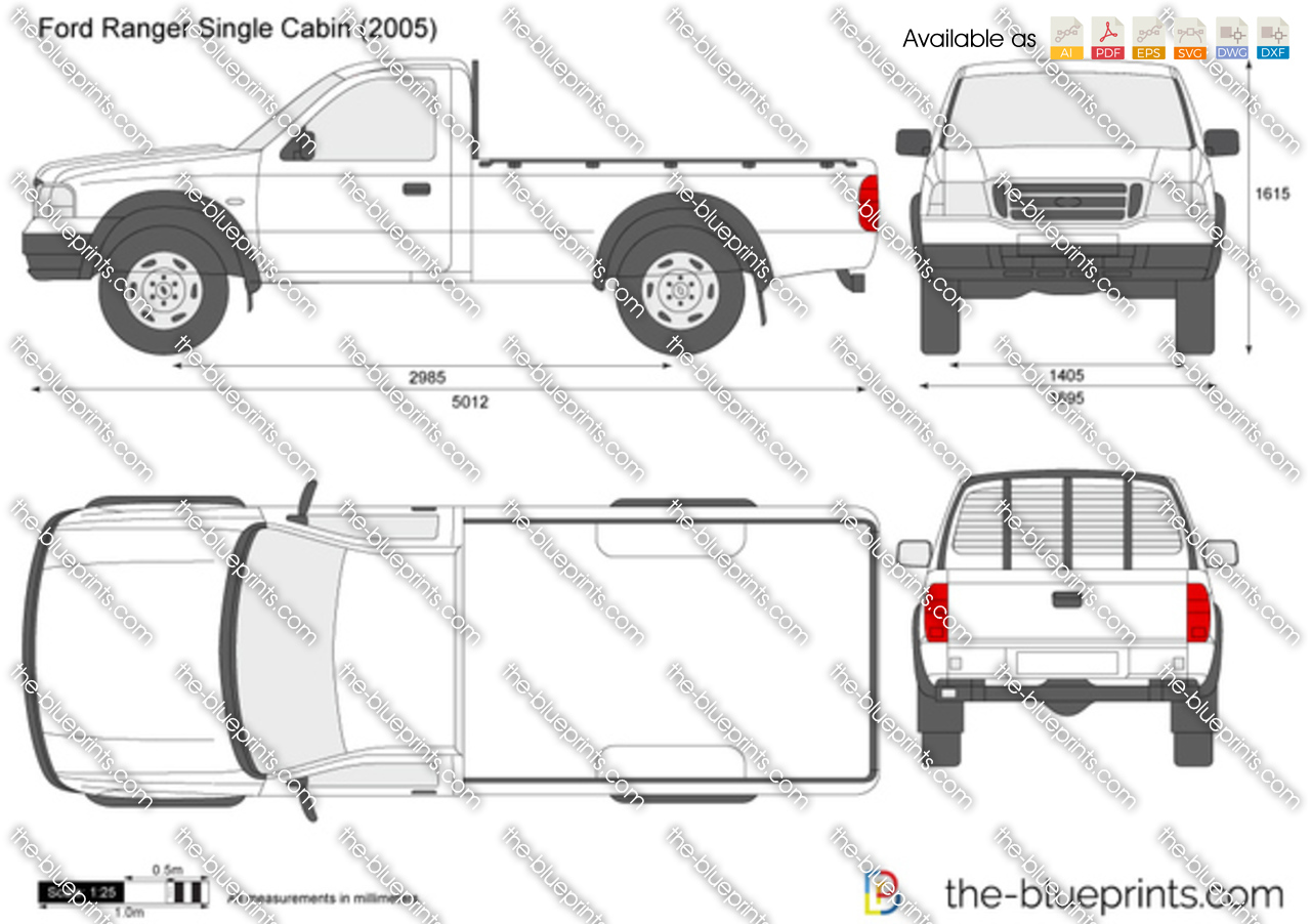 2002 Ford Ranger Single Cabin