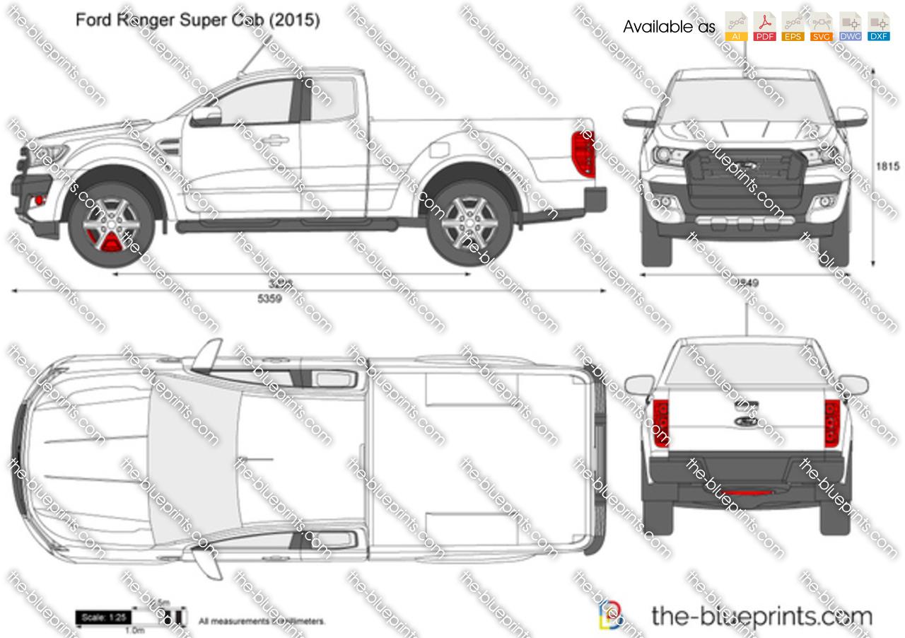 Ford Ranger Super Cab 2017