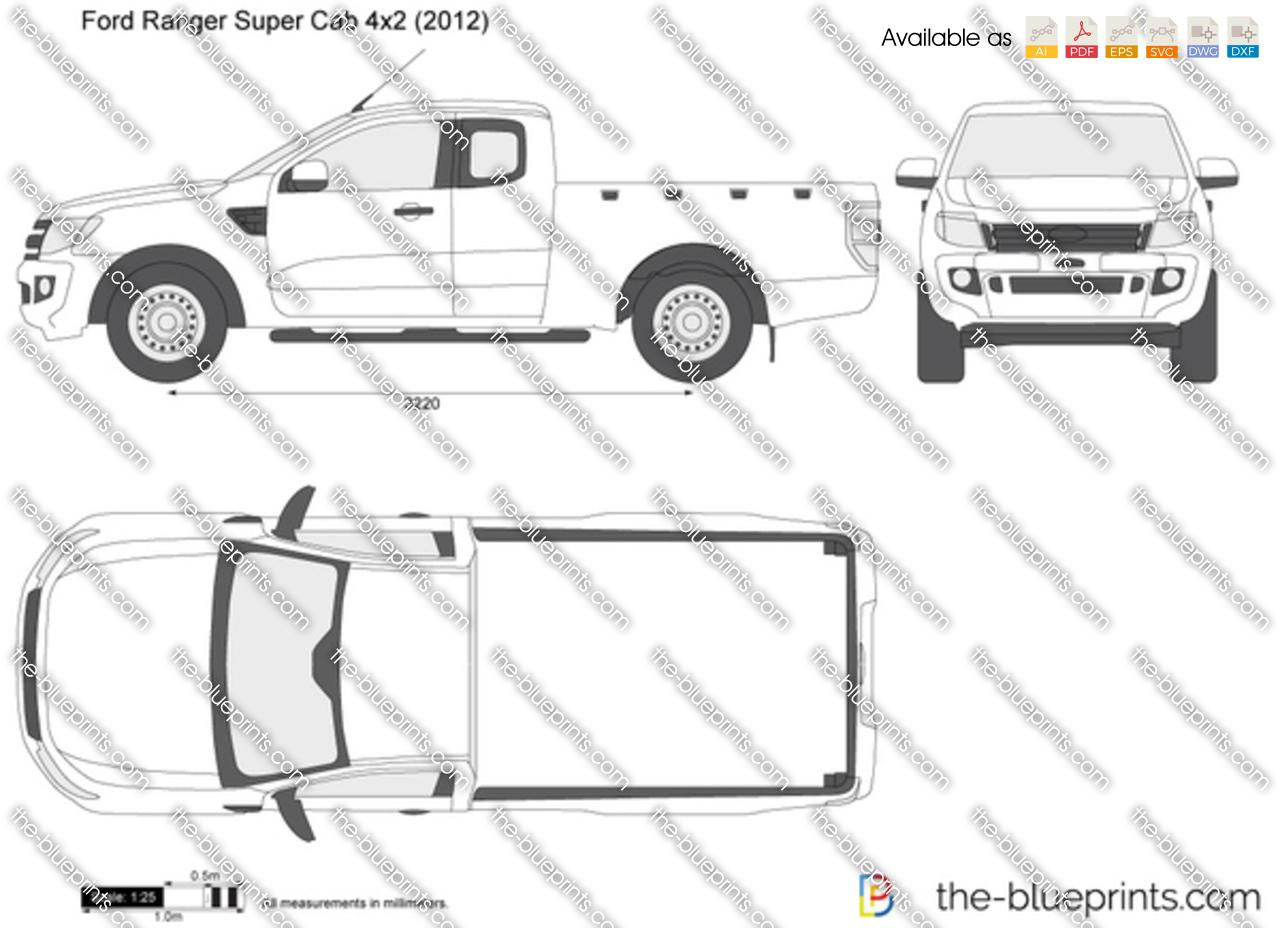 Ford Ranger Super Cab 4x2