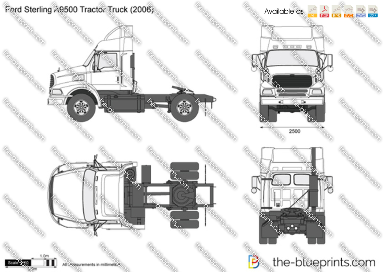 Ford Sterling A9500 Tractor Truck