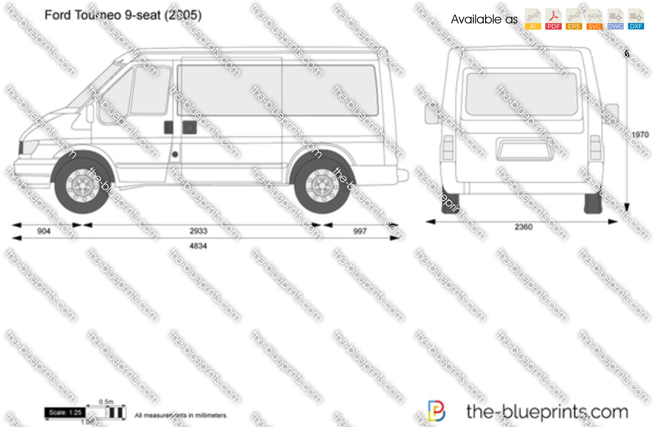 the blueprints vector drawing ford tourneo seat ford transit minibus picture reviews news specs
