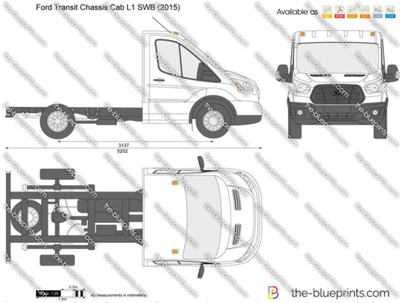 Ford Transit Chassis Cab L1 SWB 2014