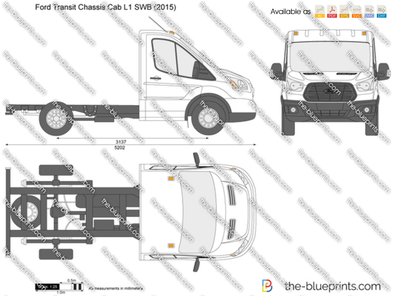 Ford Transit Chassis Cab L1 SWB 2018