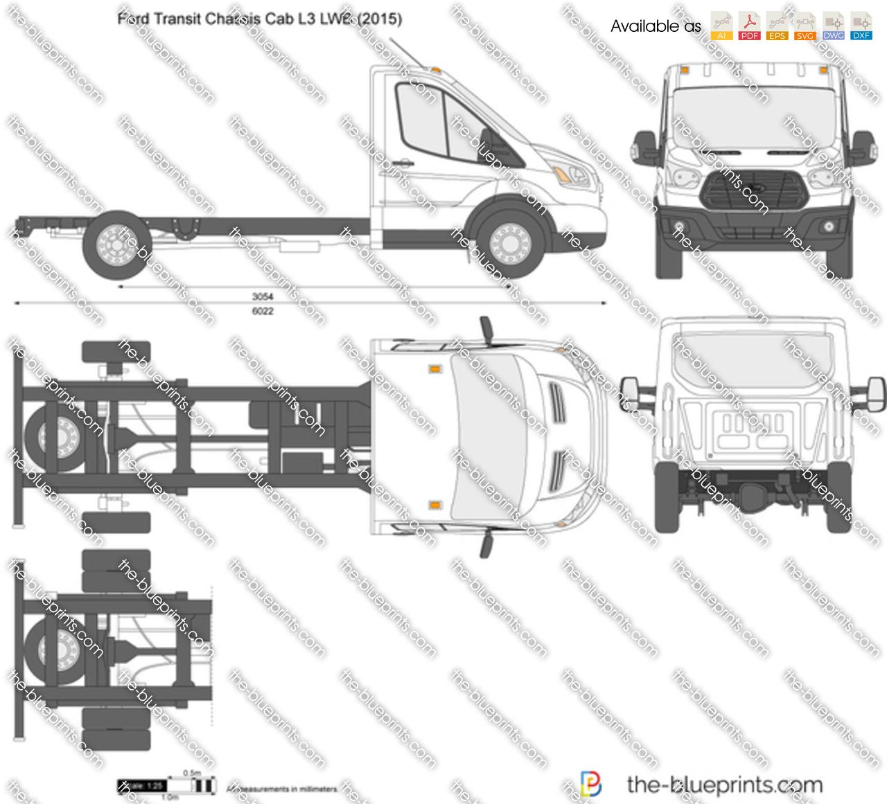 Ford Transit Chassis Cab L3 LWB