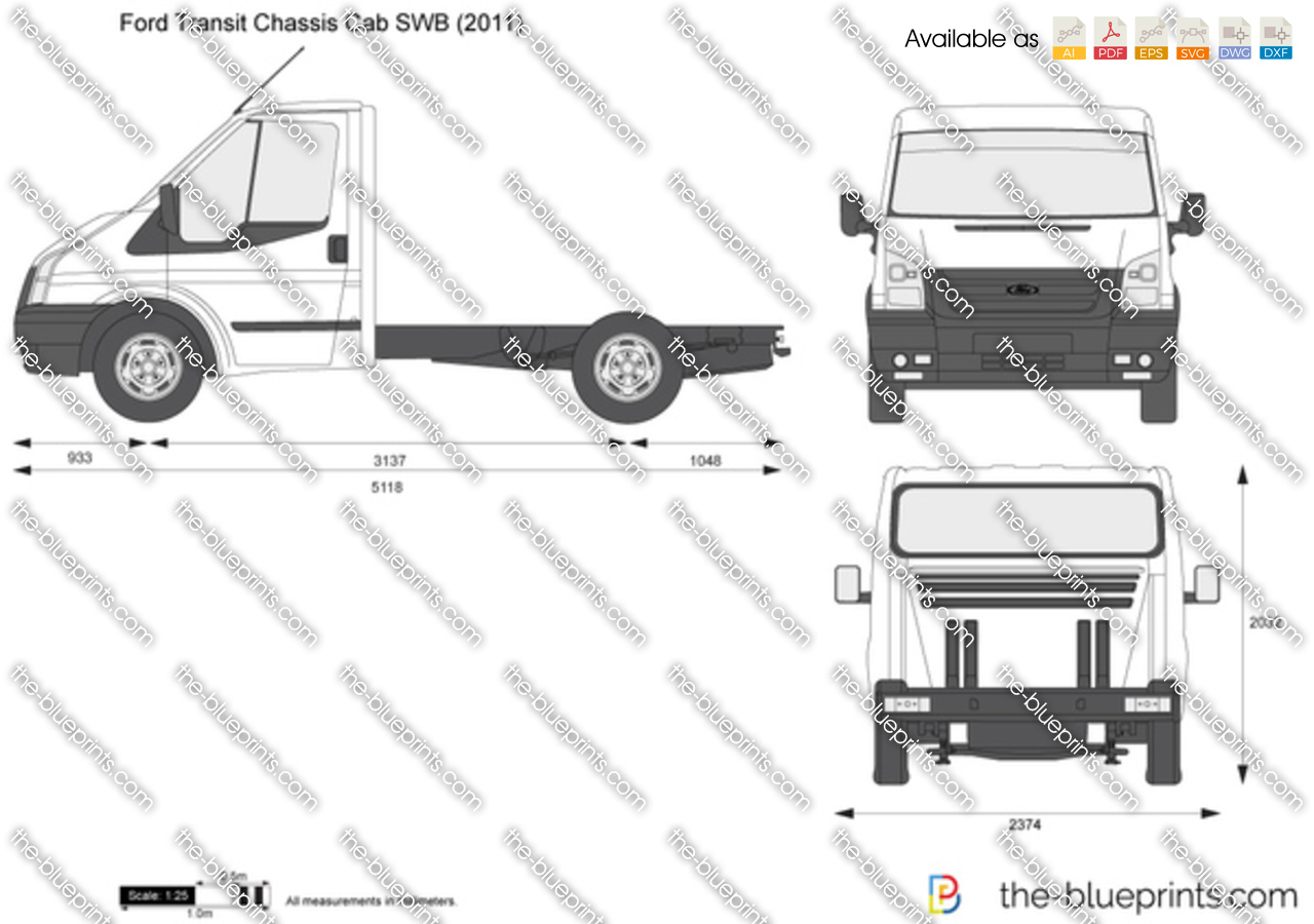 Ford Transit Chassis Cab SWB