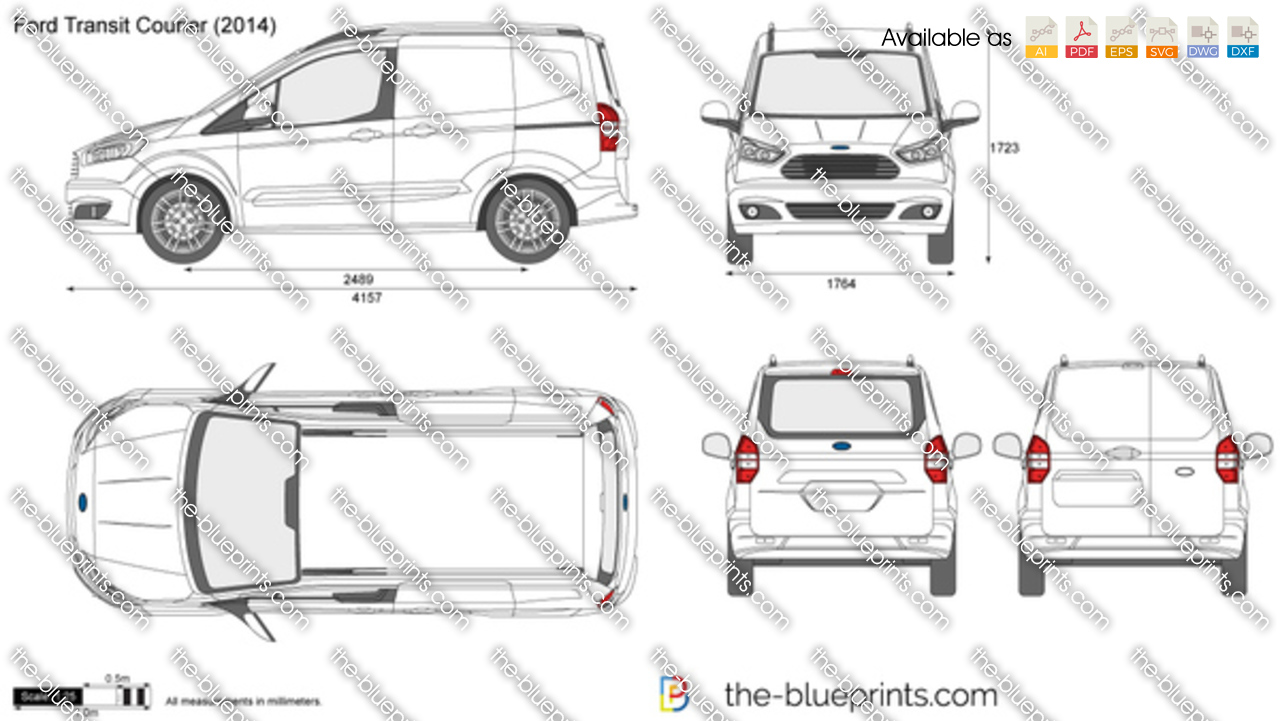 Ford Transit Courier Van 2018