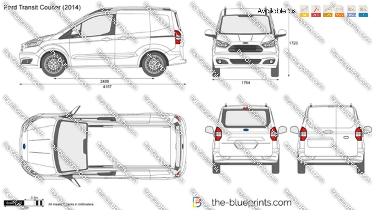 Ford Transit Courier Van 2019