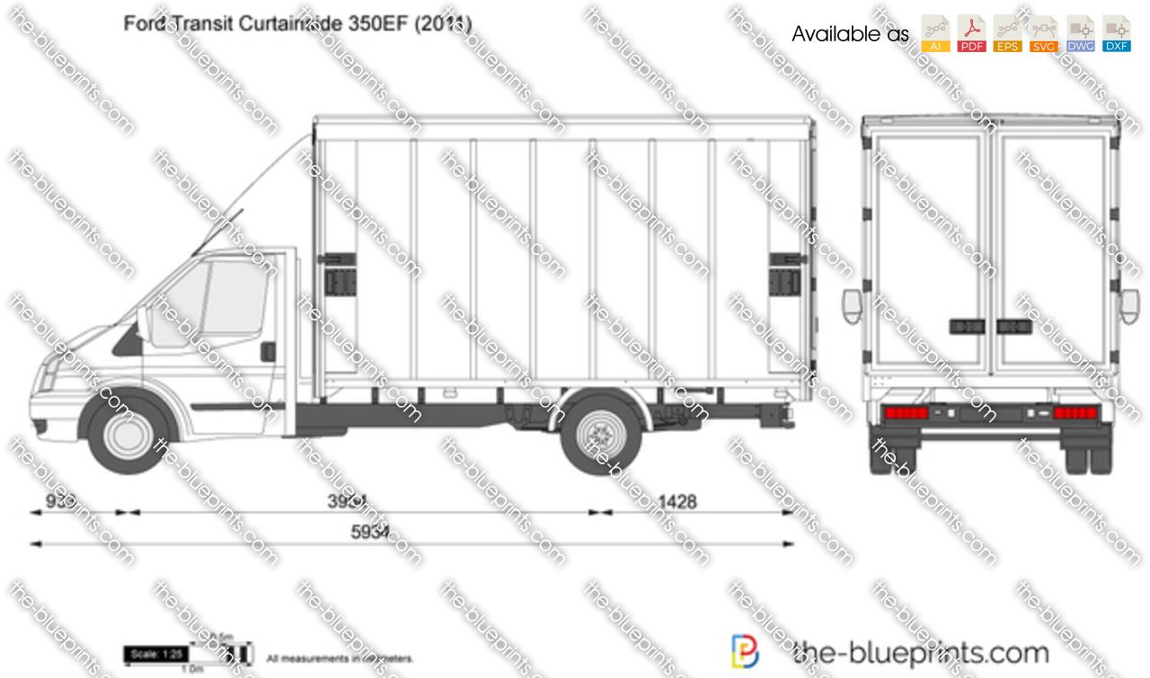 Ford Transit Curtainside 350EF