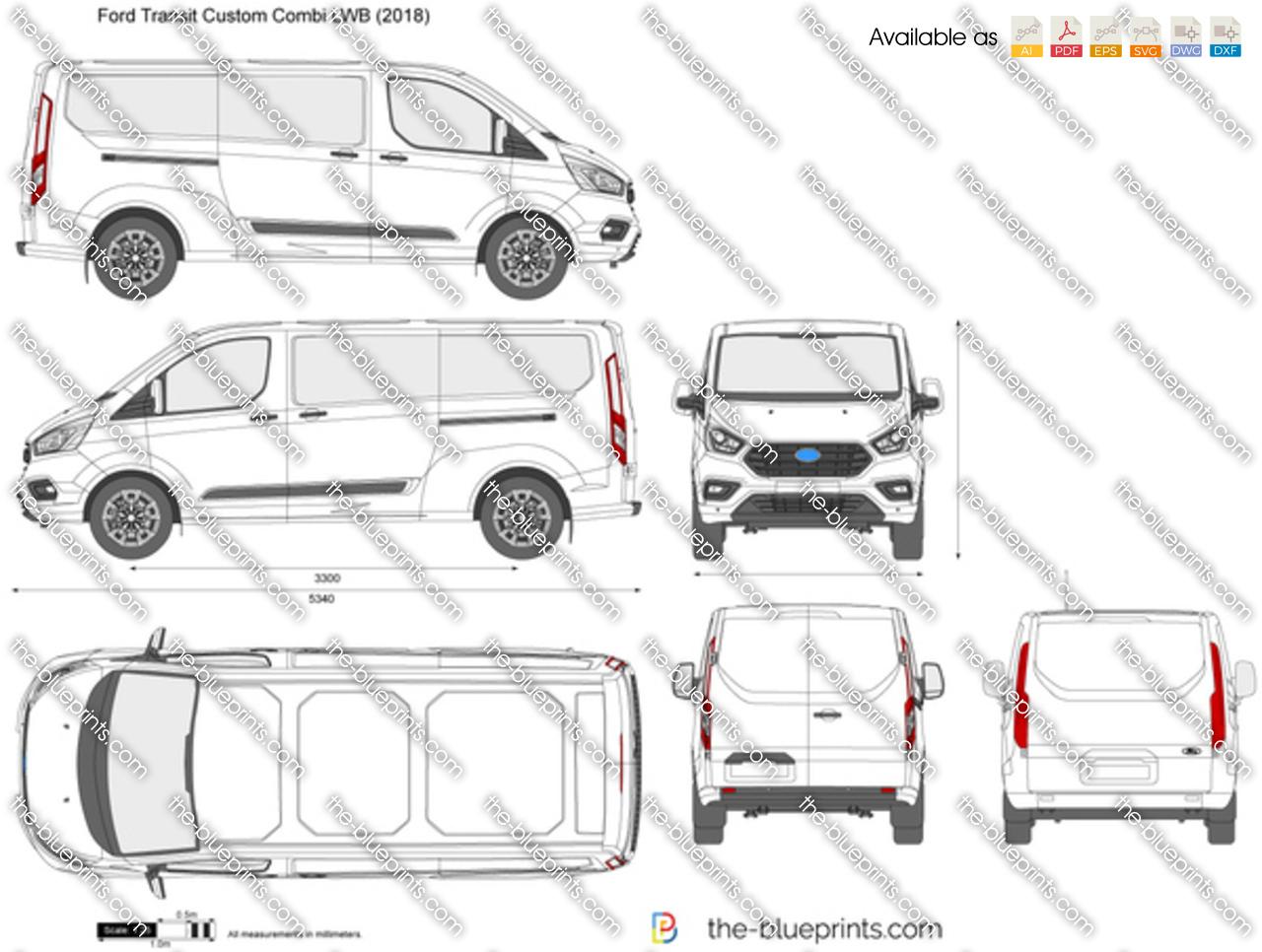 Ford Transit Custom Combi LWB
