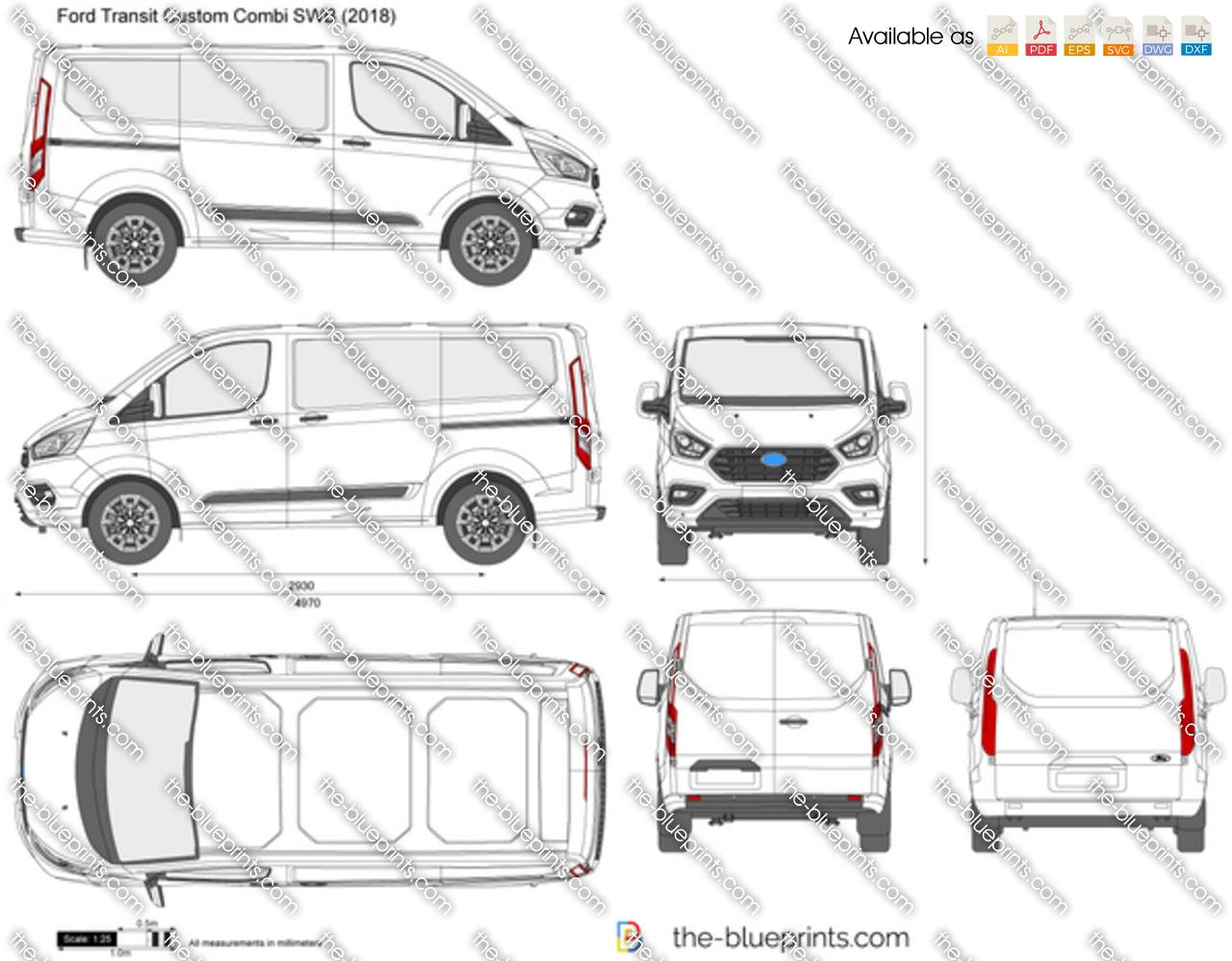 Ford Transit Custom Combi SWB 2018