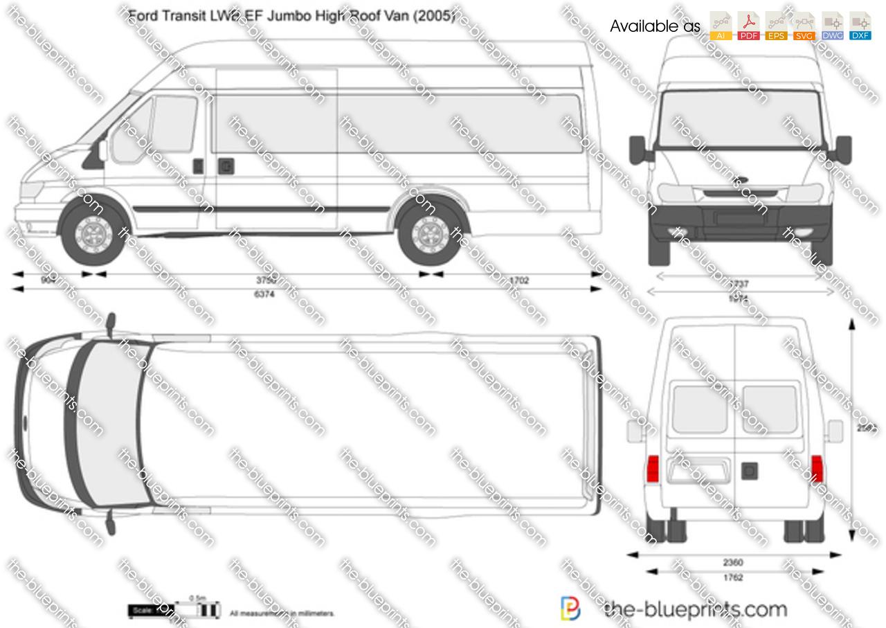 Ford Transit LWB EF Jumbo High Roof Van