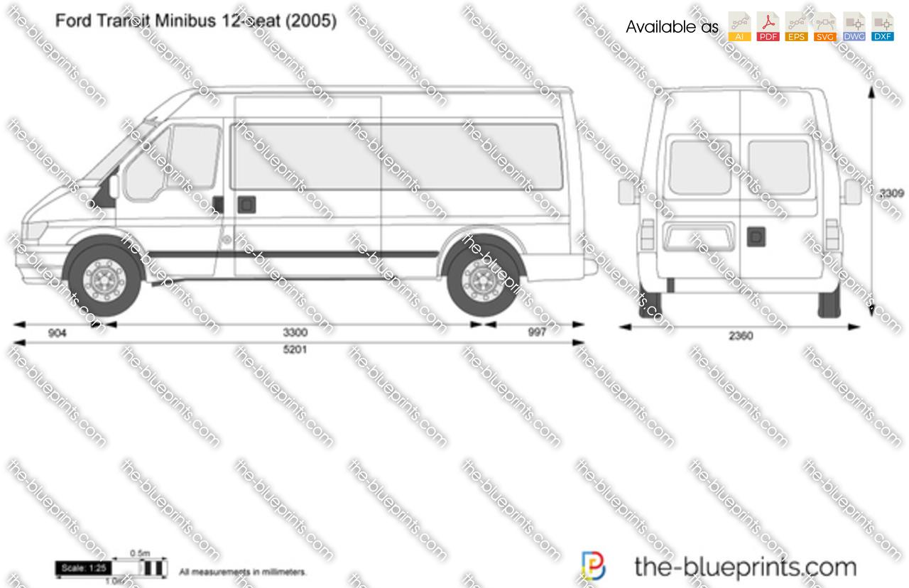 ford transit minibus 12