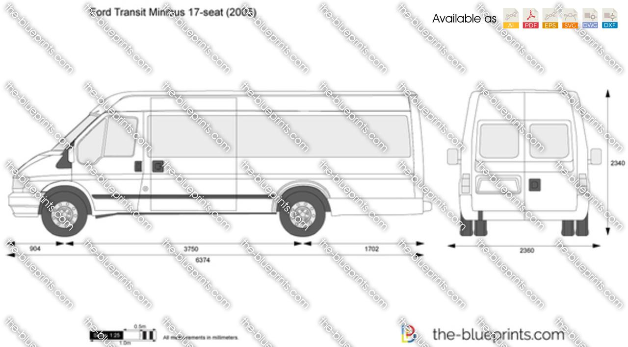 Ford Transit Minibus 17-seat
