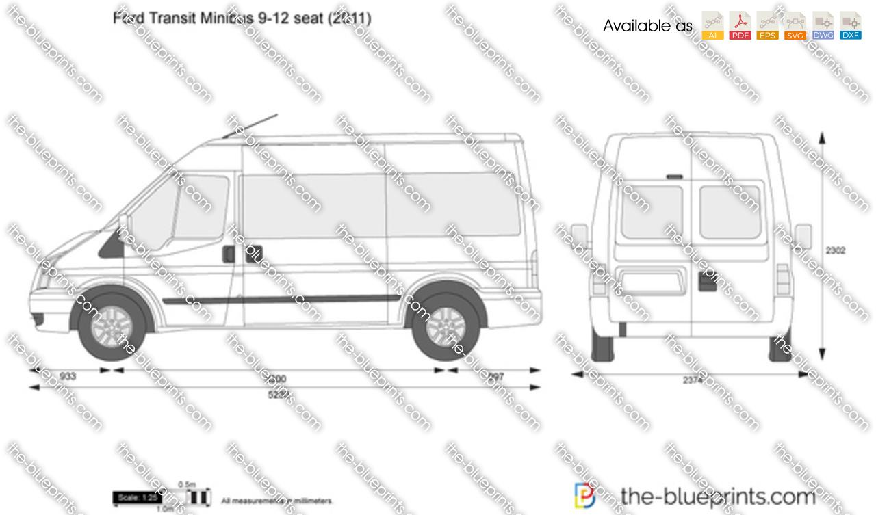 Ford Transit Minibus 9-12 seat