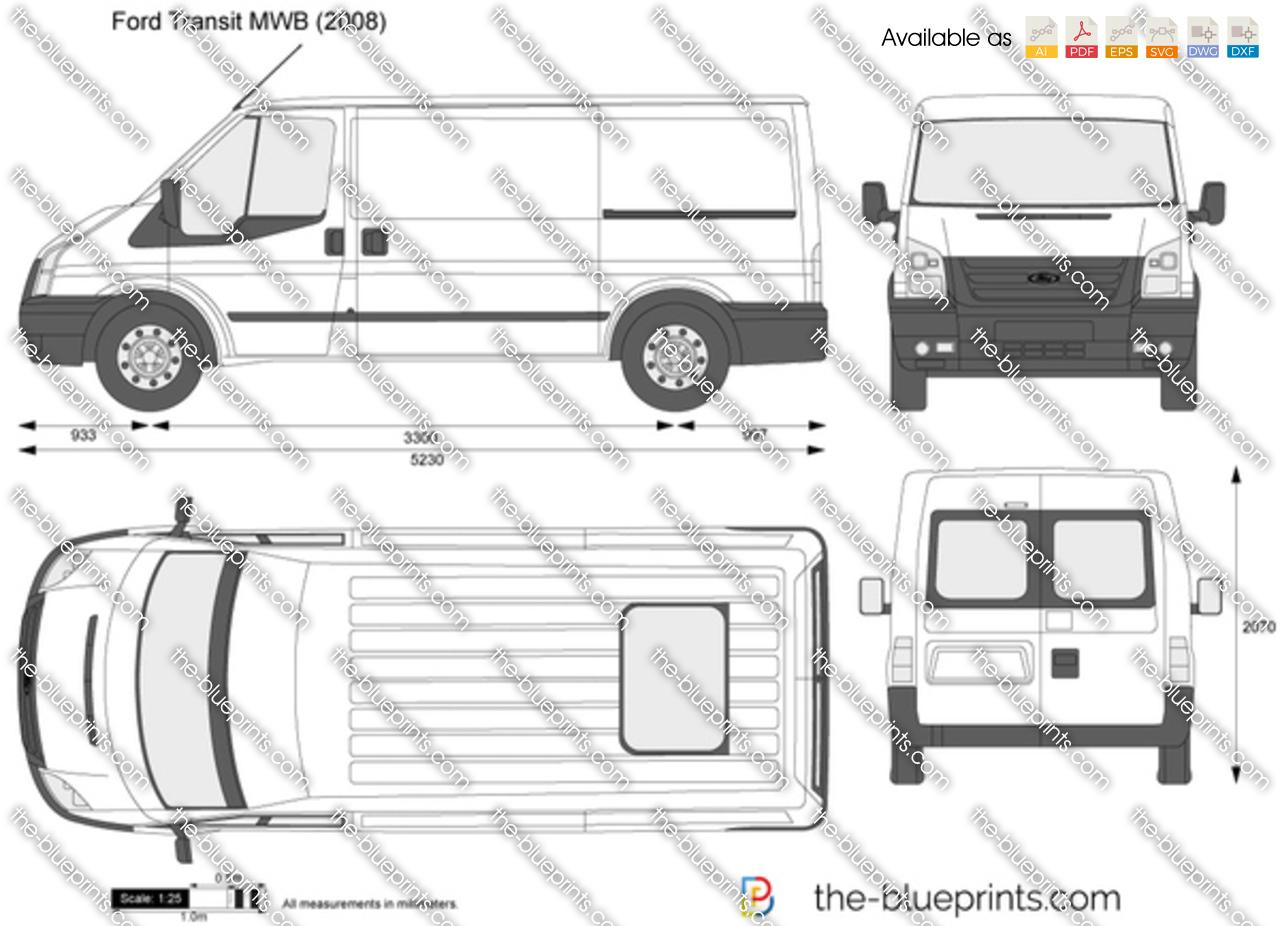 Ford Transit MWB 2010