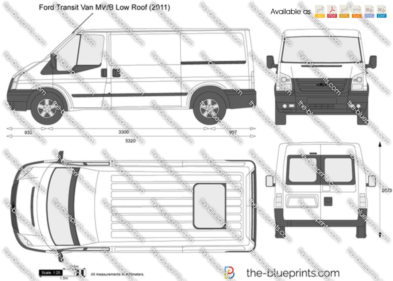 Ford Transit Van MWB Low Roof 2013