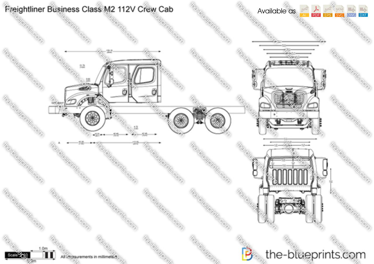 Freightliner Business Class M2 112V Crew Cab