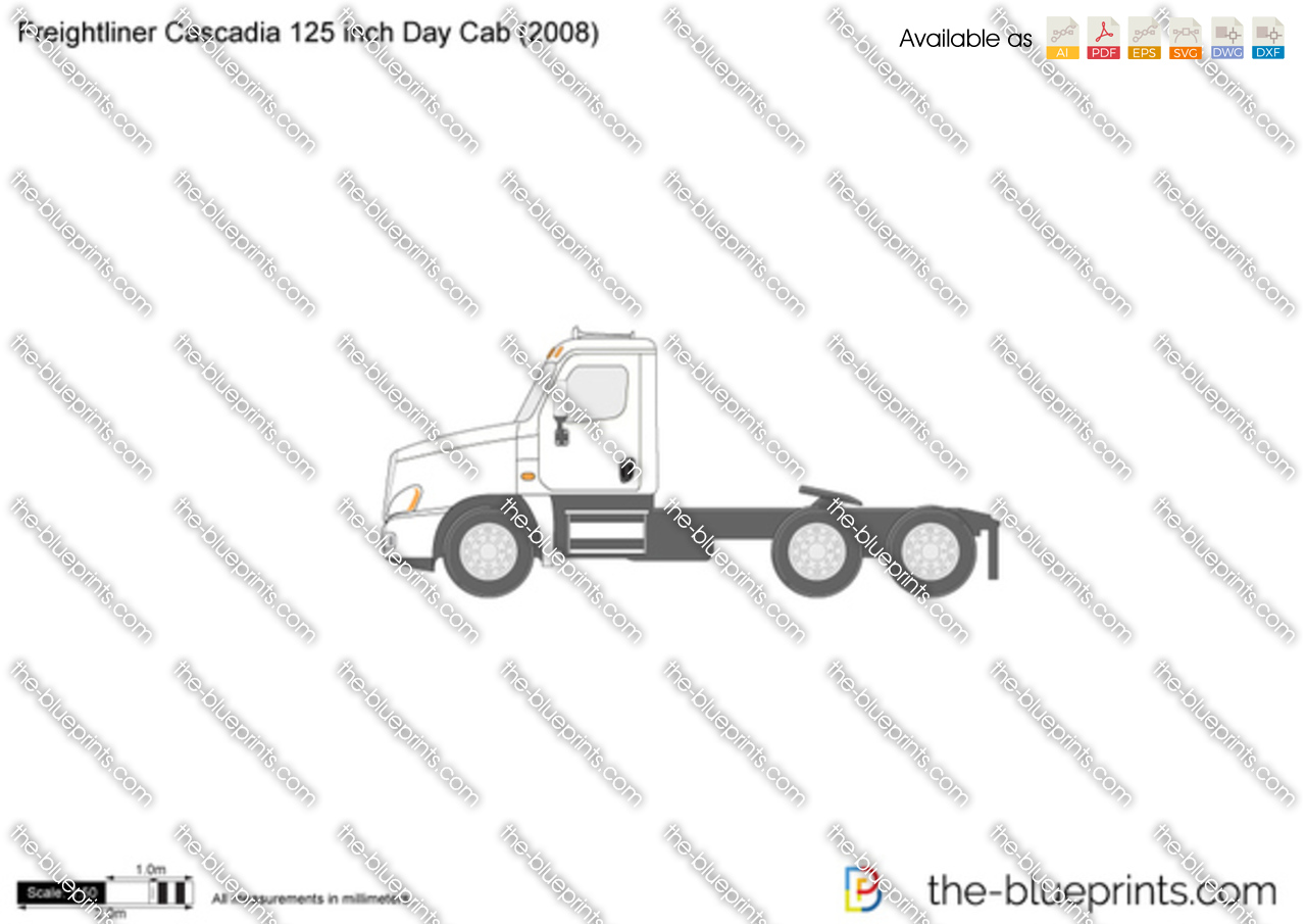 Freightliner Cascadia 125 inch Day Cab