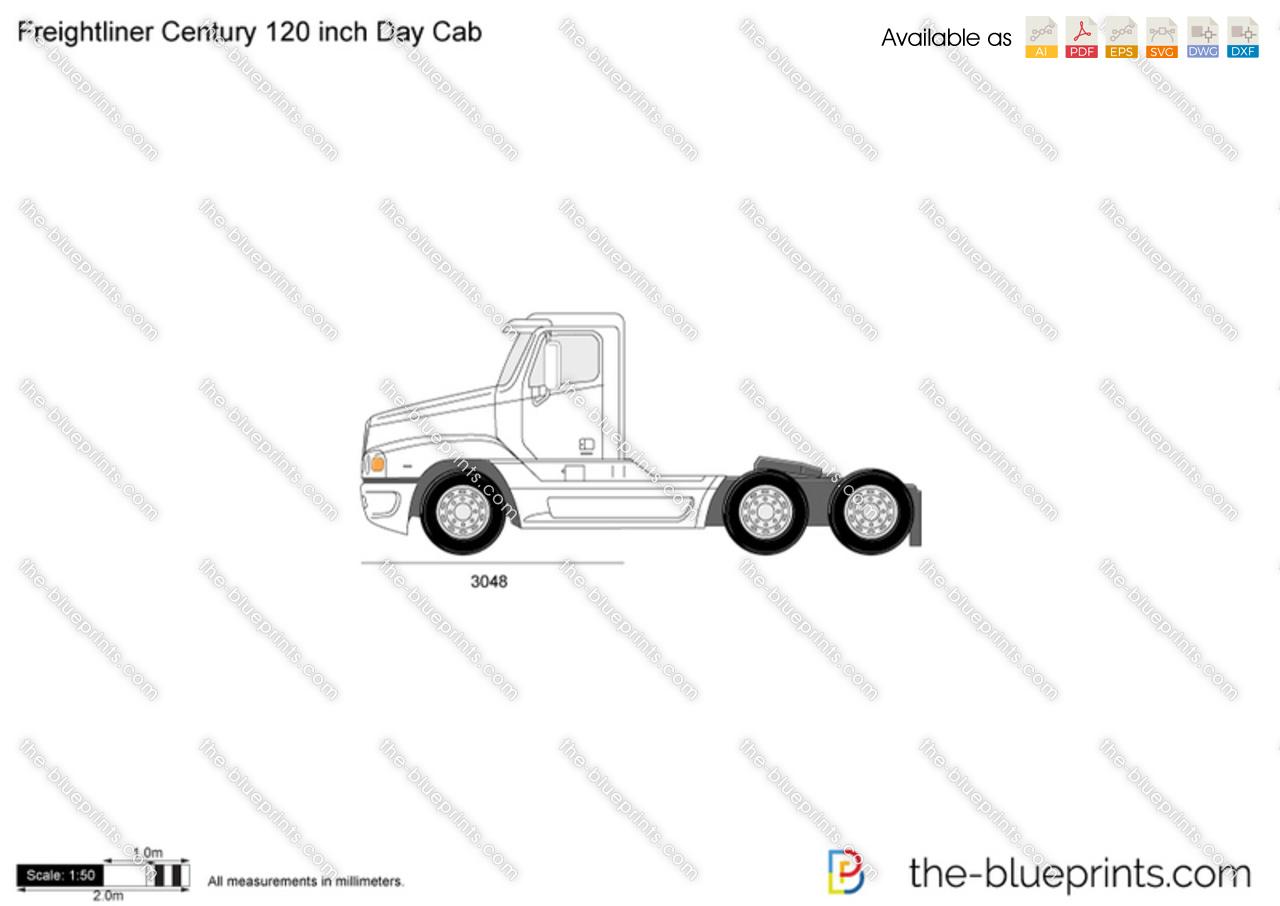 Freightliner Century 120 inch Day Cab