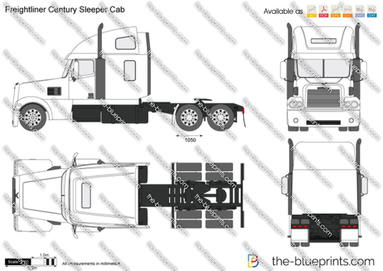 Freightliner Century Sleeper Cab