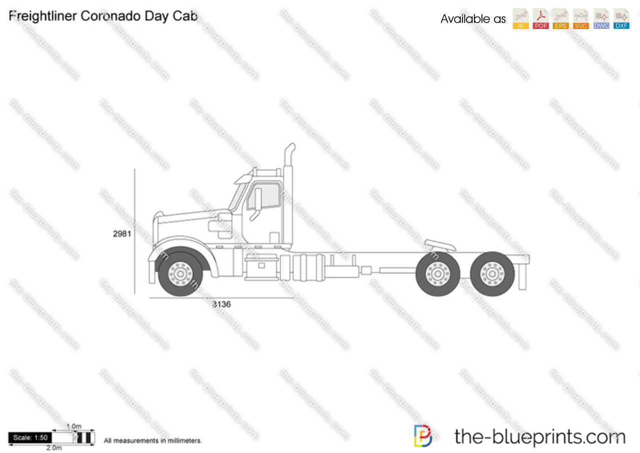 Freightliner Coronado Day Cab