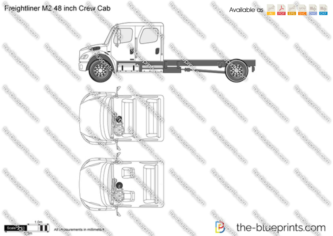 Freightliner M2 48 inch Crew Cab