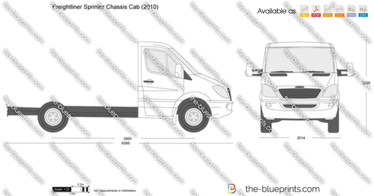 Freightliner Sprinter 144-inch wheelbase Cab Chassis