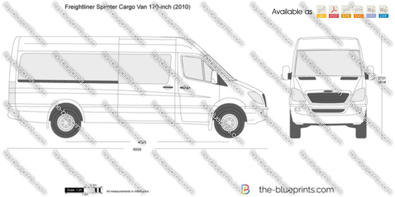 Freightliner Sprinter Cargo Van 170-inch
