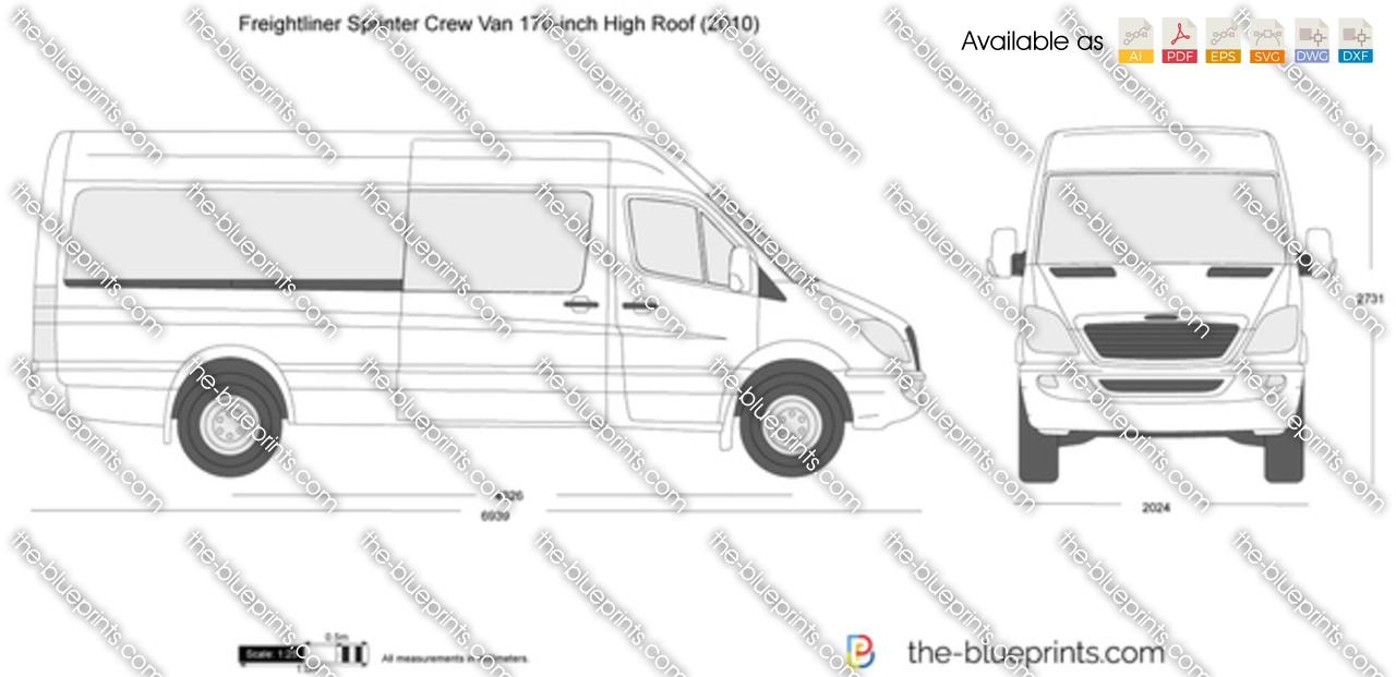 Freightliner Sprinter Crew Van 170-inch High Roof