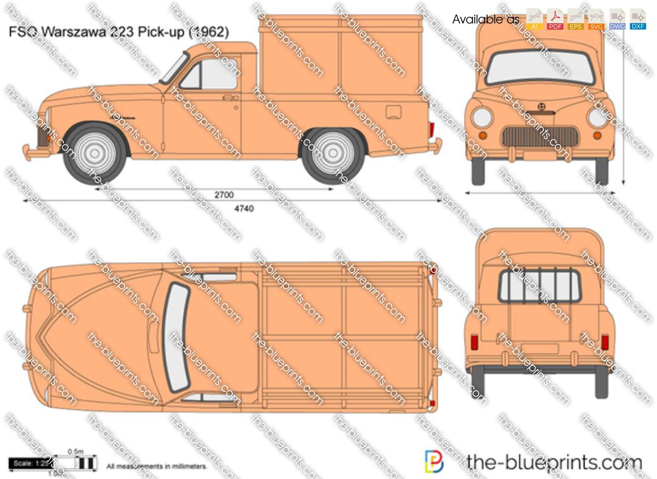 FSO Warszawa 223 Pick-up