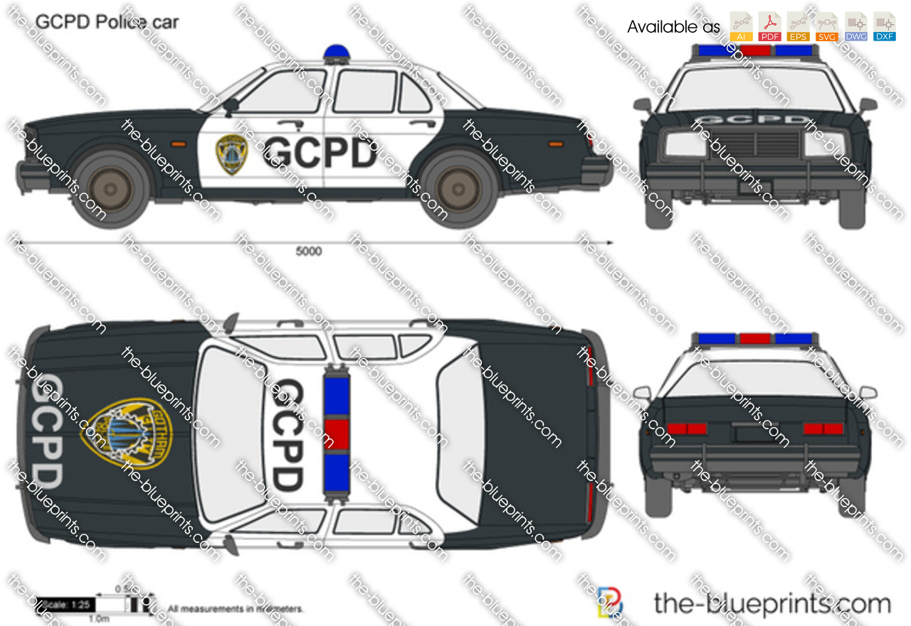 GCPD Police car