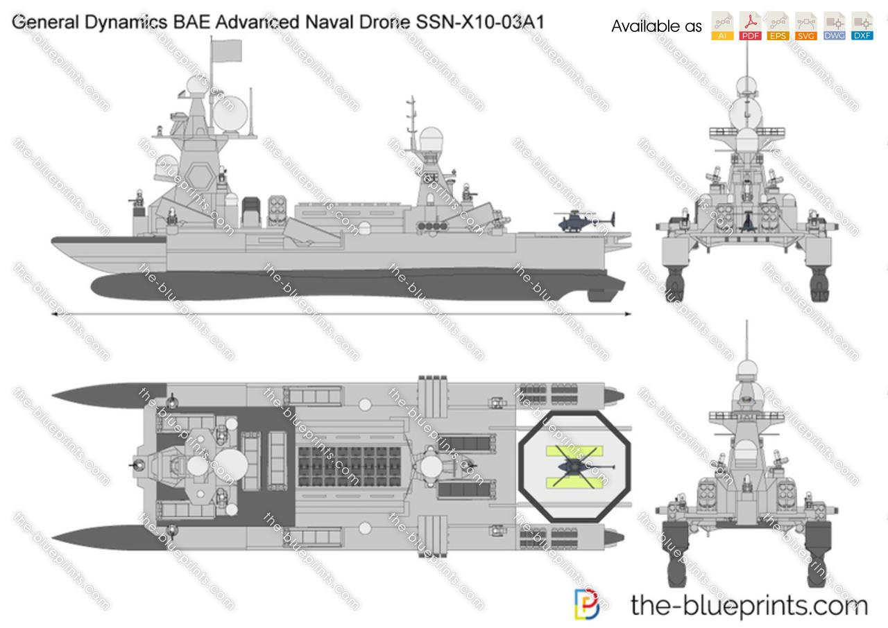 General Dynamics BAE Advanced Naval Drone SSN-X10-03A1