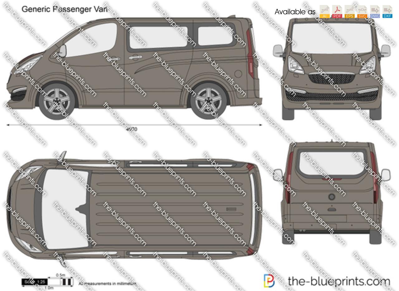 Generic Passenger Van