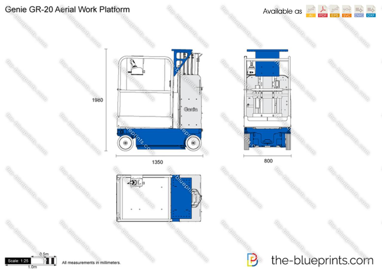 Genie GR-20 Aerial Work Platform
