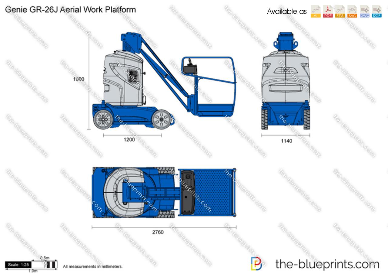Genie GR-26J Aerial Work Platform