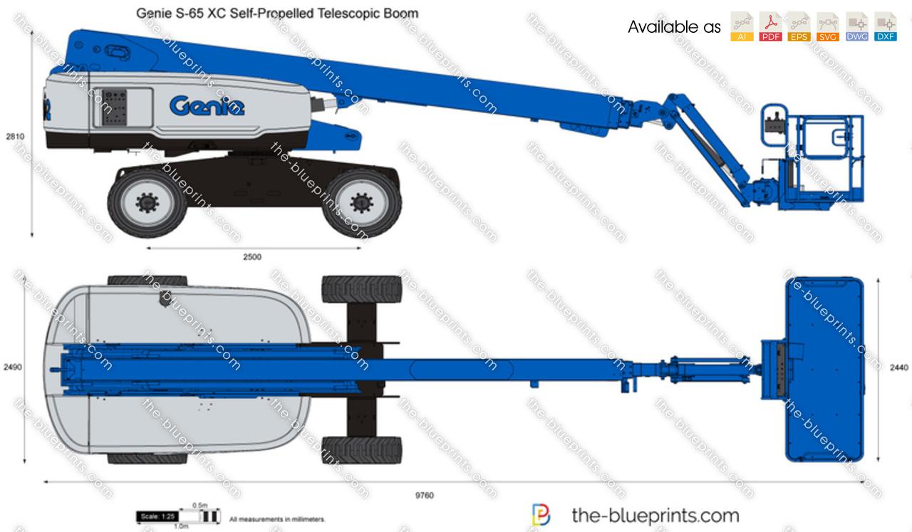 Genie S-65 XC Self-Propelled Telescopic Boom