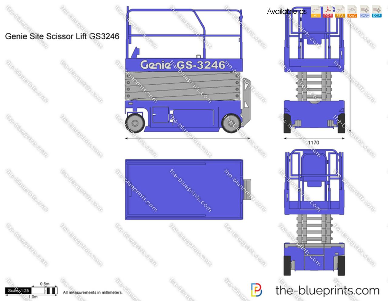 Genie Site Scissor Lift GS3246