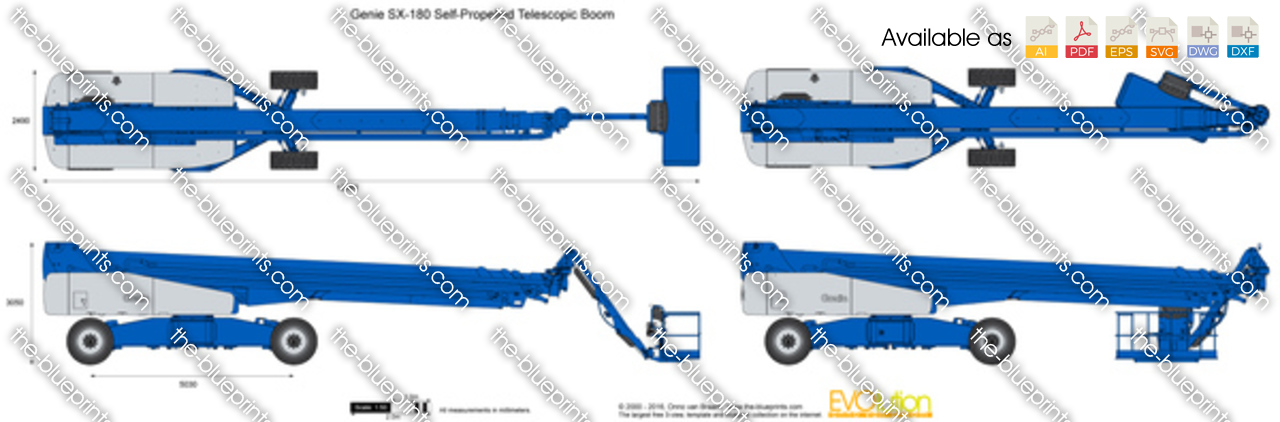 Genie SX-180 Self-Propelled Telescopic Boom