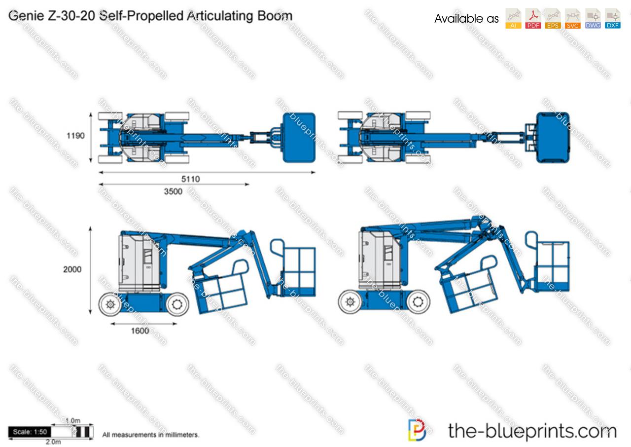 Genie Z-30-20 Self-Propelled Articulating Boom